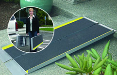fold and go suitcase ramps